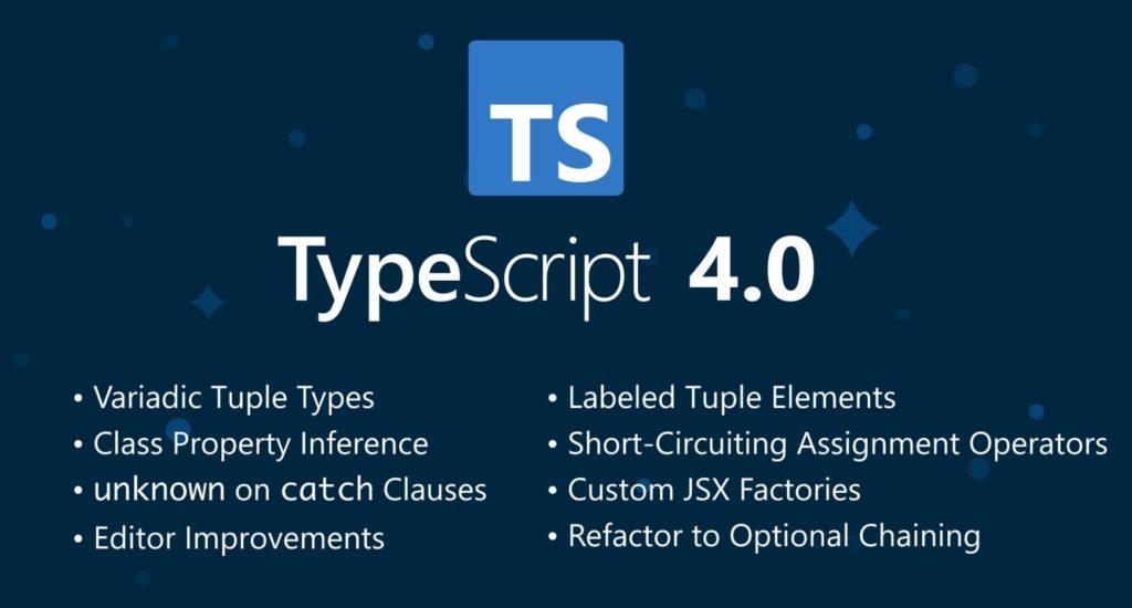 TypeScript 4 features